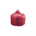 Red LDHM Garbage Bags